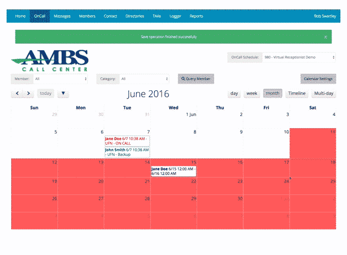 Messages App On Call Scheduling Ambs-1