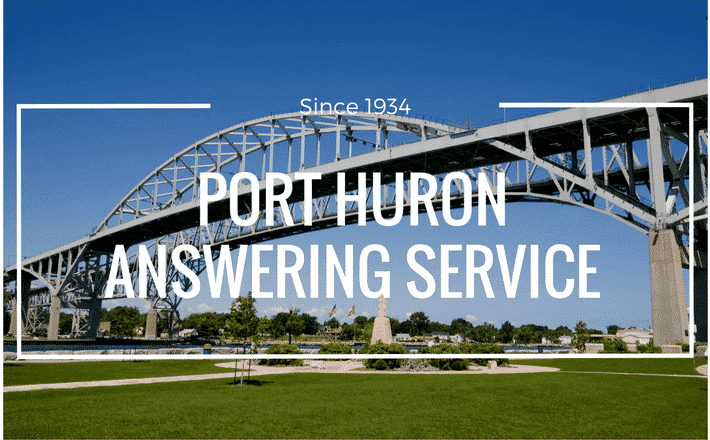 port huron answering service