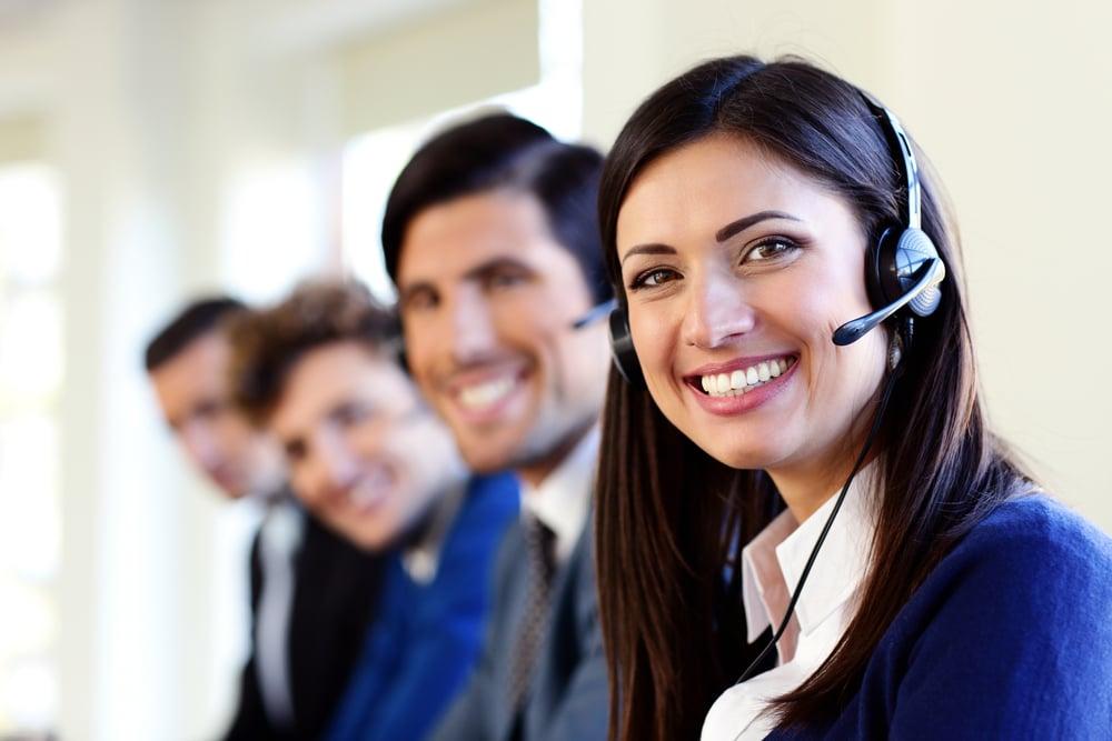 polite people answering phones
