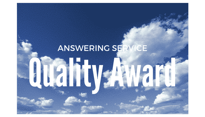 Answering Service Quality Award